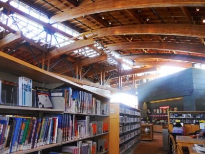 Inside the Beacon Hill Library