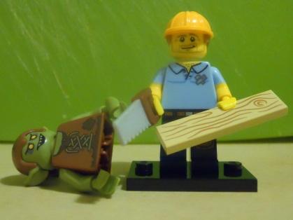 Lumberman vs Orc