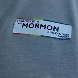 hugged by a Mormon