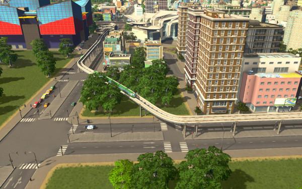 Monorail Corner