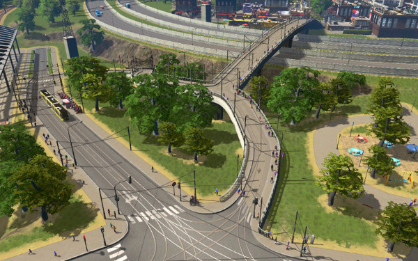 Tram Bridge redesign