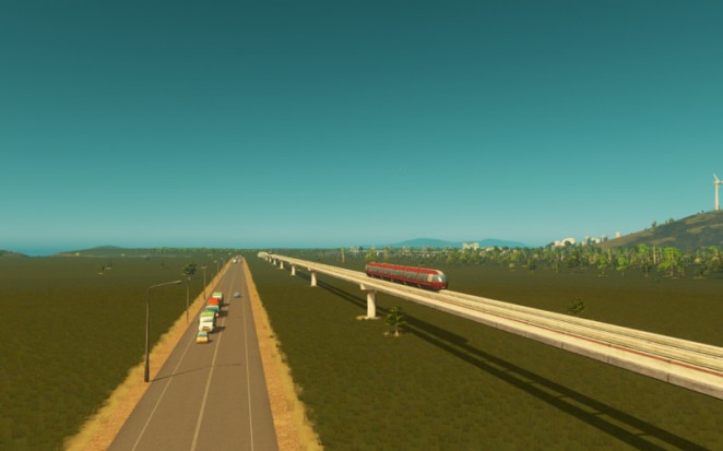 Monorail and Highway