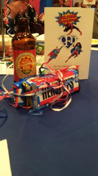 I won the candy, not the beer