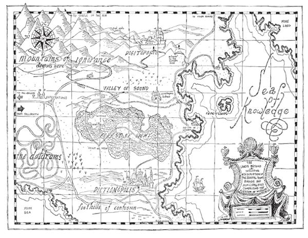 Phanton Tollbooth map
