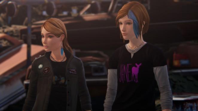 Rachel and Chloe