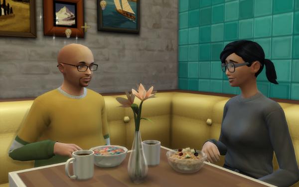 Breakfast with Ingrid