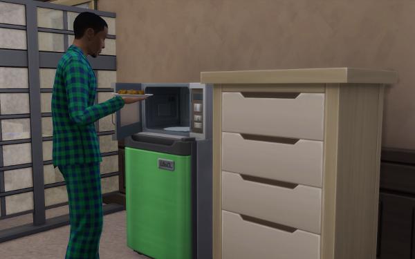 New Fridge and Microwave