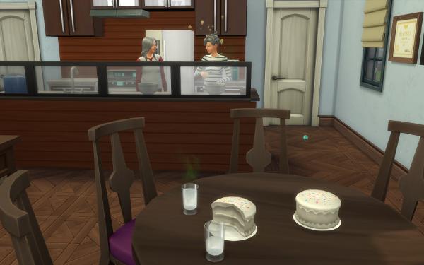 Cakes In Progress
